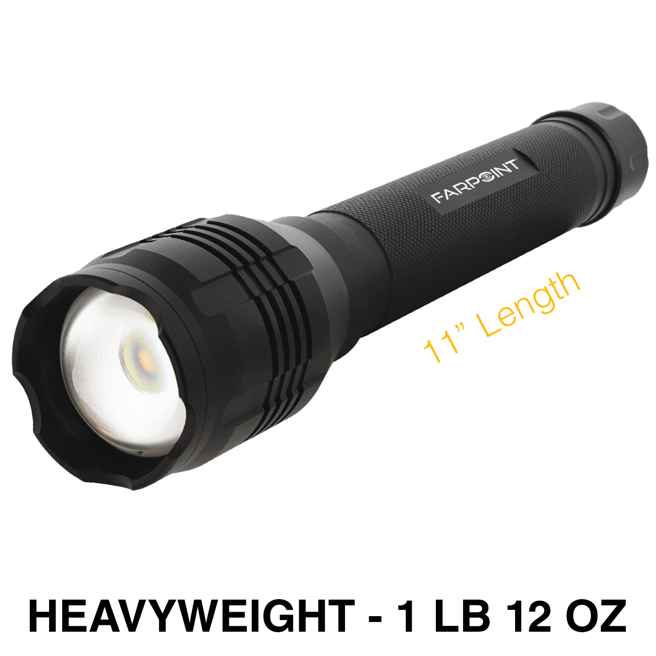 Farpoint® 4000 Lumens Tactical Flashlight (1 pc)