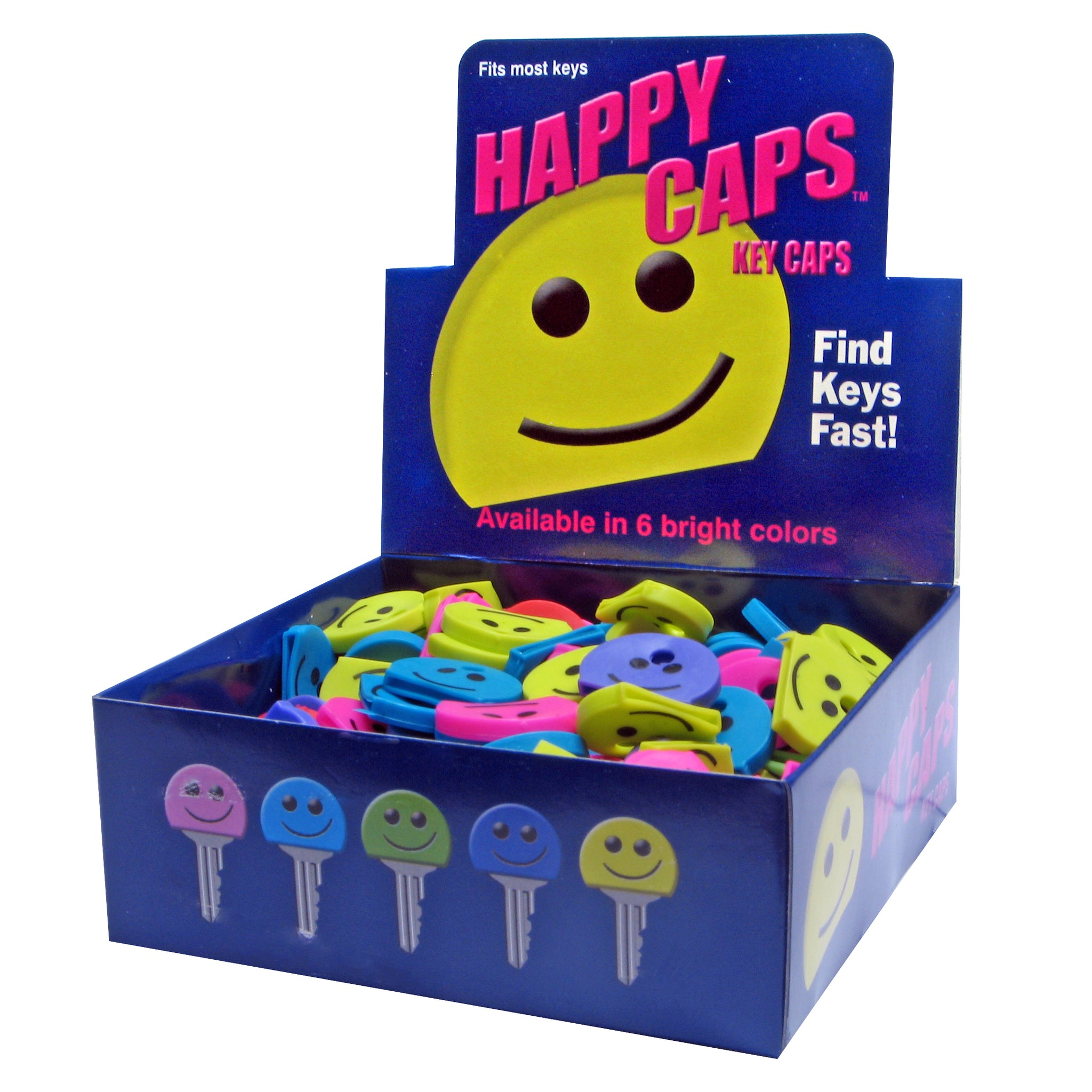 Happy Face ID Key Caps (200 pc DISPLAY)