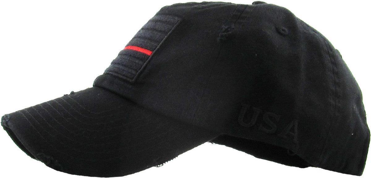 Blue and Red Thin Line Ball Cap (1 pc Refill)