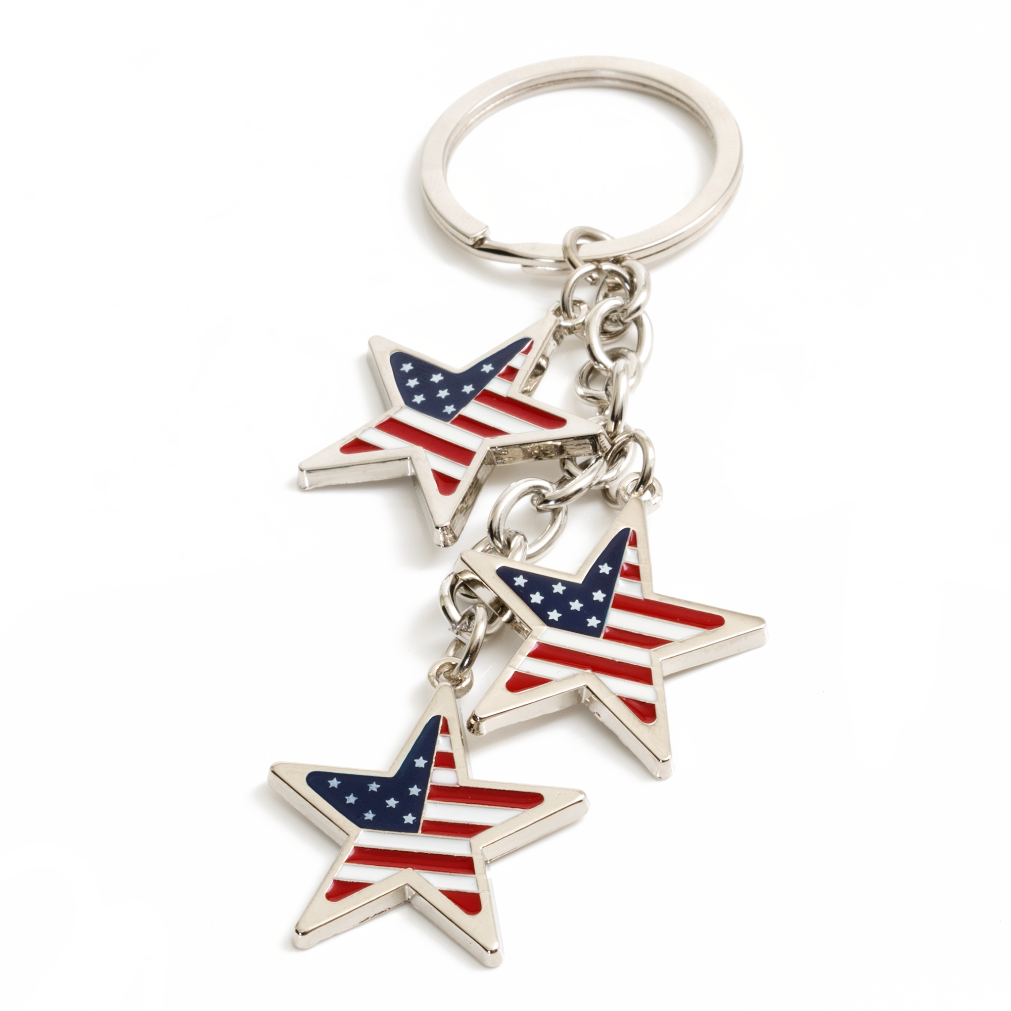 Stars and Stripes Keychain (12 pc DISPLAY)