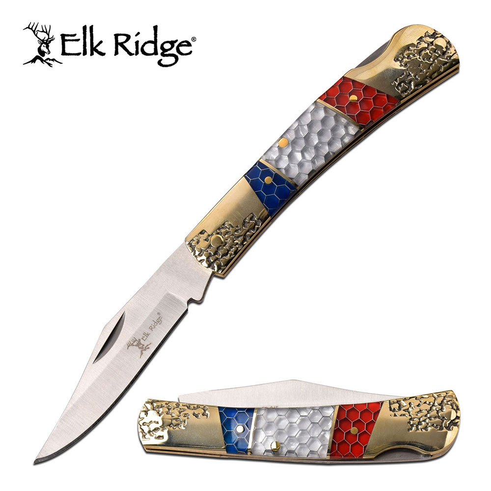 Red, White & Blue Knife (1 pc)