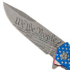 """We The People"" Etched Blade Pocket Knife (1 pc)"