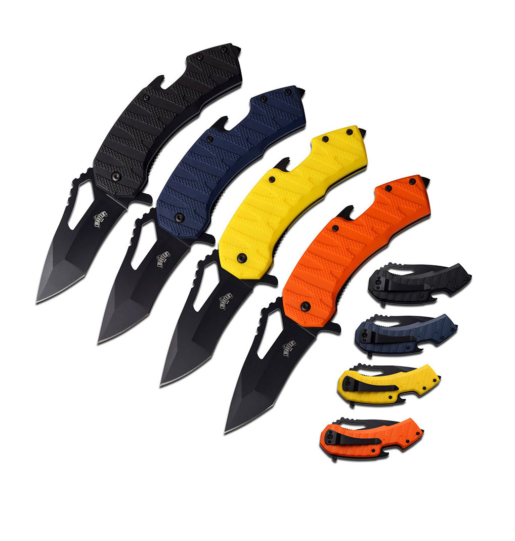 4 Color Knife Assortment (12 pc DISPLAY)