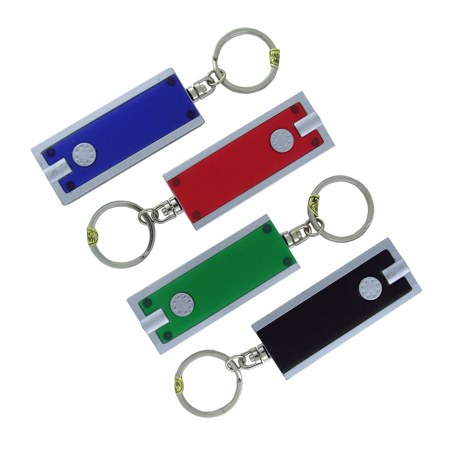 Super Flat LED Keychain (36 pc DISPLAY)