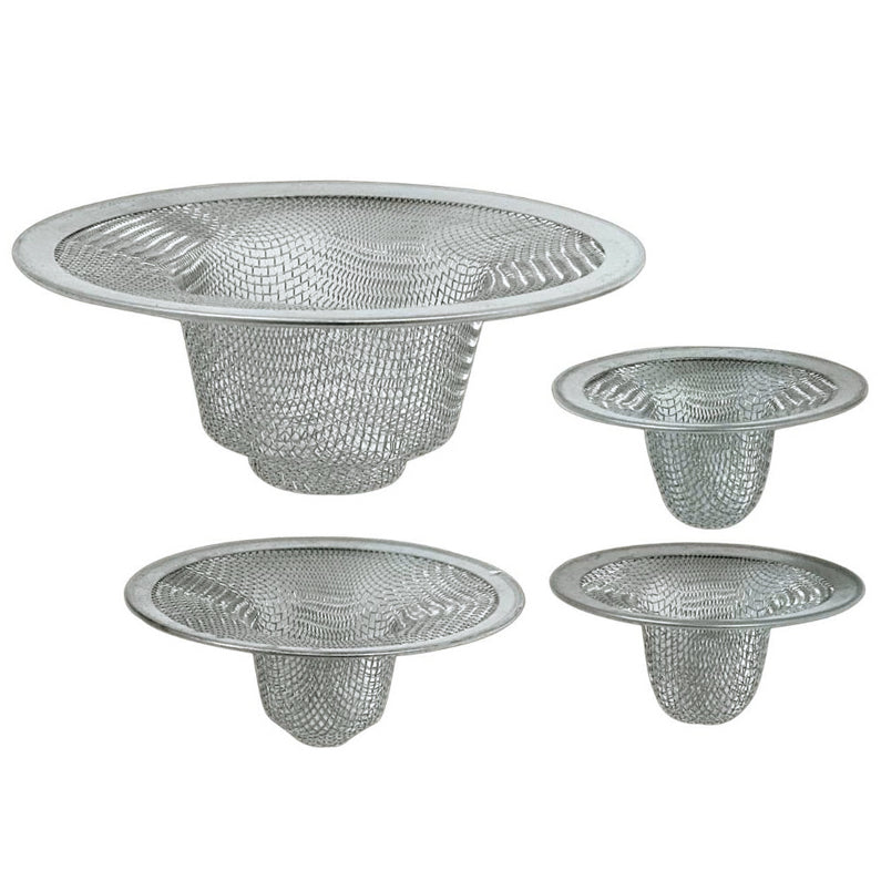 4 pc Sink Strainer (12 pc Clip Strip)