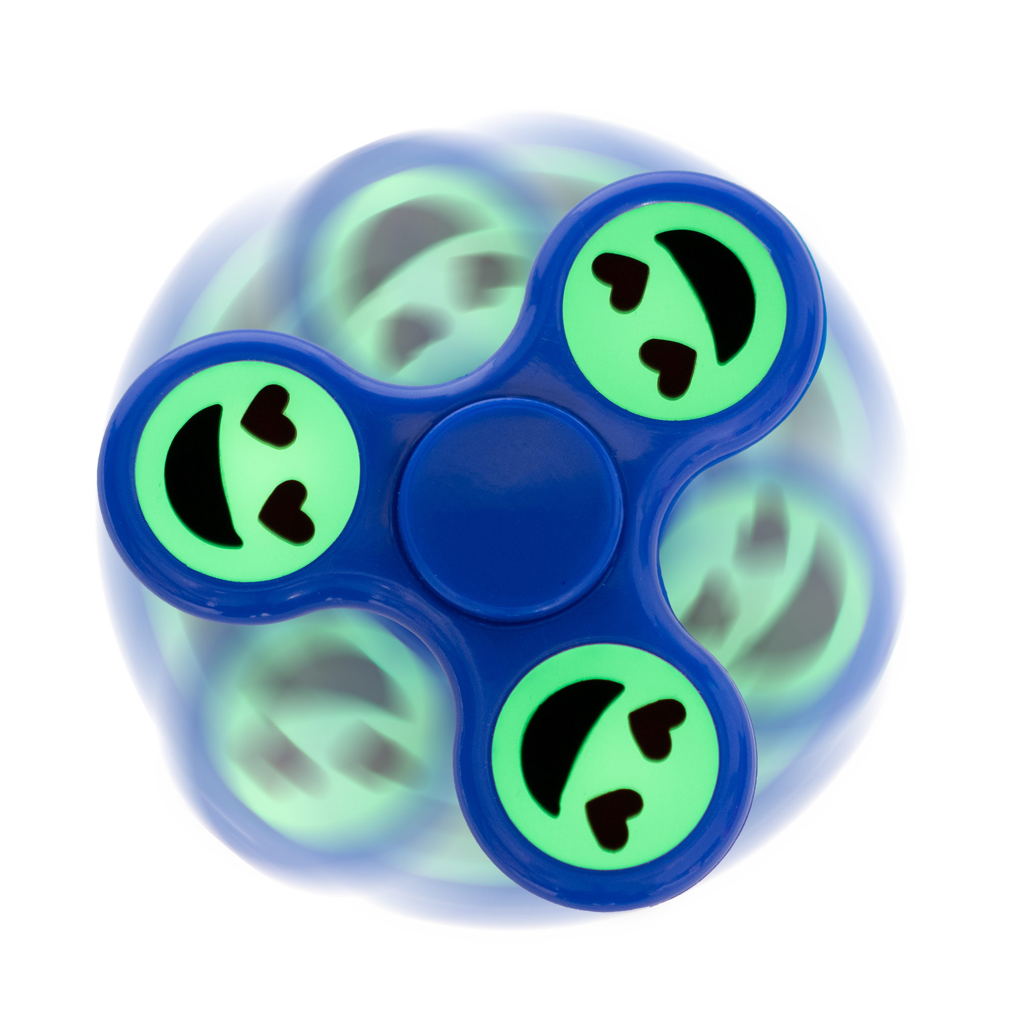 Spinner - Glow in Dark Emoji (20 pc Display)