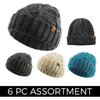 Confetti - Premium Winter Beanie (6 pc Clip Strip)