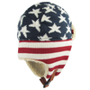 American Flag Trapper Winter Cap (1 pc Refill)