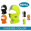 Safety Reflective Zipper Winter Mask (1 pc REFILL)