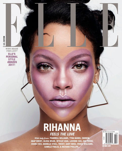 ELLE OCT 2017 RIHANNA RICH HAIR CARE