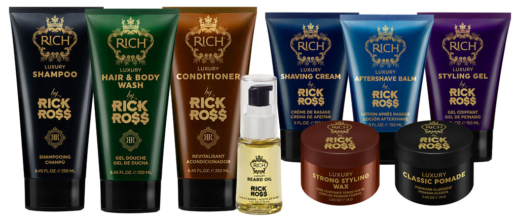 Image of the full RICH by Rick Ross collection