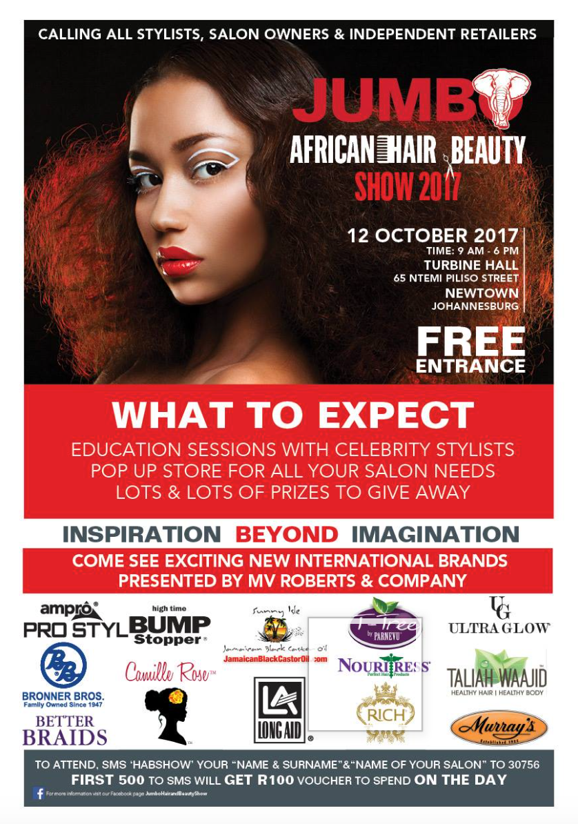 Jumbo African Hair and Beauty Show 2017