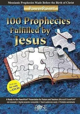 100 Prophecies Fulfilled by Jesus - PowerPoint-Christian Books-SonGear Marketplace-SonGear