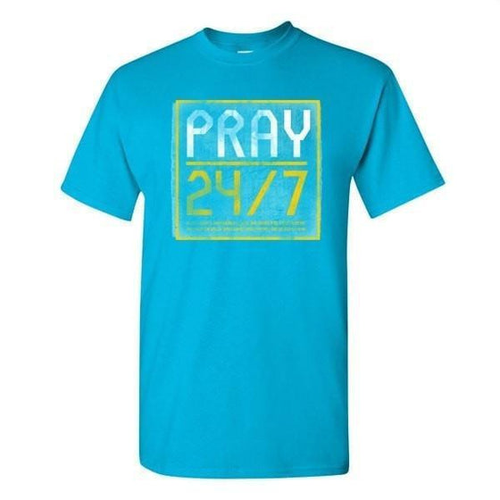 '24/7' - Men's T-Shirt-Christian T-Shirts-Gardenfire-SGN3886447116-SGN3886447116-SonGear