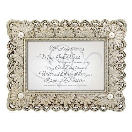 25th Anniversary, Song of Solomon Framed Print-Christian Picture Frames-SonGear Marketplace-SonGear