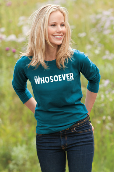 I'm a WHOSOEVER - Long Sleeve - Teal