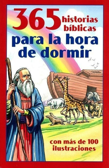 365 Historias Bíblicas para la Hora de Dormir (365 Bible Stories for Bedtime)-Christian Books-SonGear Marketplace-SonGear