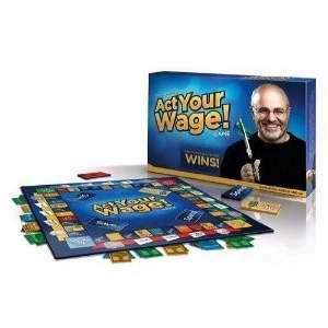 Game-Act Your Wage!