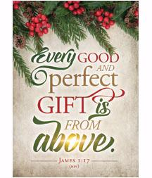 Gift From Above, Box of 12 Christmas Cards (NIV)