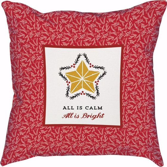 All Is Calm (12' x 12'), Pillow