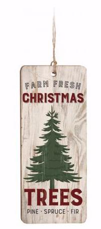 Ornament-Farmhouse-Farm Fresh Christmas