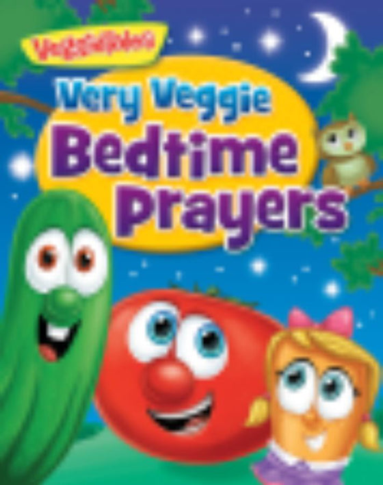 Veggie Tales: Very Veggie Bedtime Prayers (Jan 2018)
