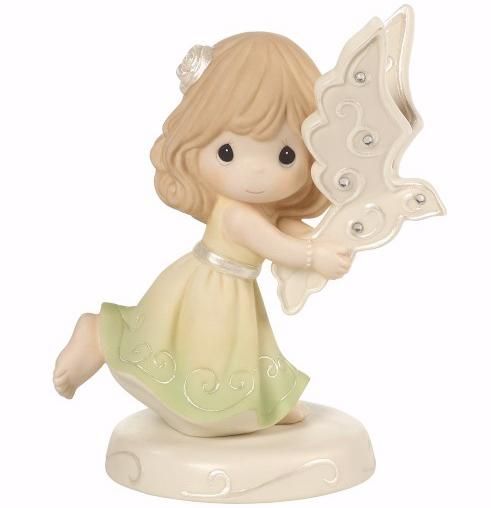 Figurine-May Peace Fill You w/Dove (6')