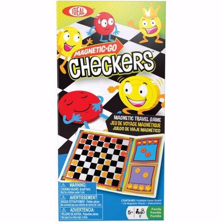 Game-Magnetic-Go Checkers (Age 5+)