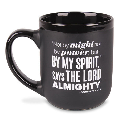Ceramic Mug-Encourage Men-By My Spirit (#18244)