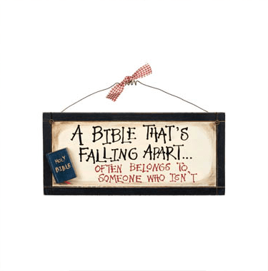 A Bible That's Falling Apart - Wall Art-Christian Home Decor-SonGear Marketplace-SonGear
