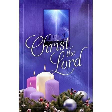 A Child Is Born Christ The Lord (Luke 2:10-11, KJV) Christmas Bulletins, 100-Christian Church Supplies-SonGear Marketplace-SonGear
