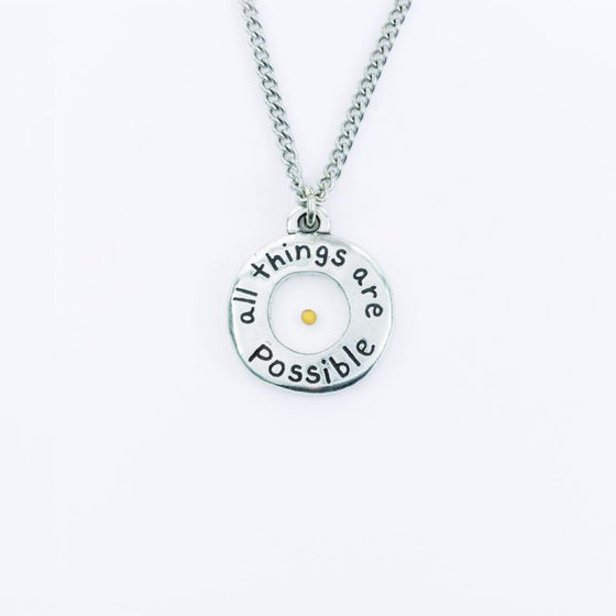 All Things Possible, Mustard Seed Pendant