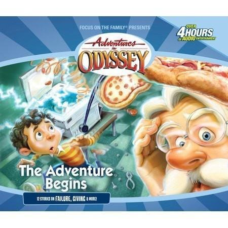 Adventures In Odyssey V01: Adventure Begins (4 CD)-Christian Music-SonGear Marketplace-SonGear