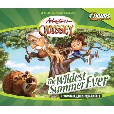 Adventures In Odyssey V02: Wildest Summer Ever (Repack) (4 CD)-Christian Music-SonGear Marketplace-SonGear