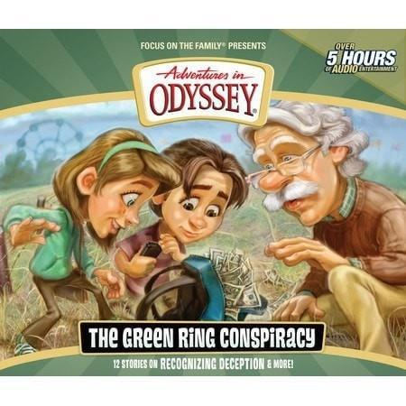 Adventures In Odyssey V53: Green Ring Conspiracy (4CD)-Christian Music-SonGear Marketplace-SonGear