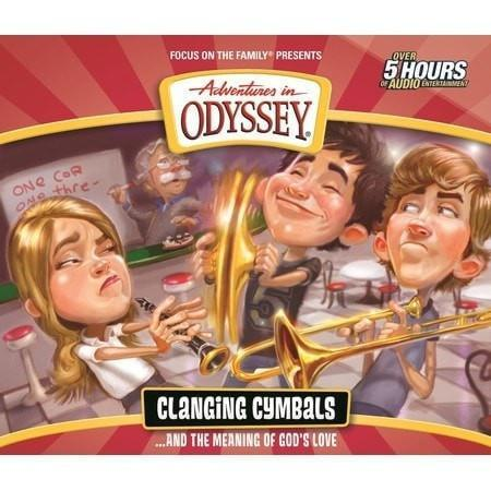 Adventures In Odyssey V54: Clanging Cymbals (4CD)-Christian Music-SonGear Marketplace-SonGear