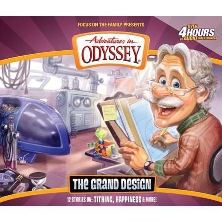 Adventures In Odyssey V56: Grand Scheme (4CD)-Christian Music-SonGear Marketplace-SonGear