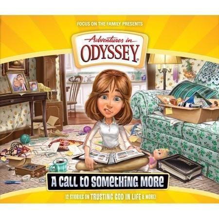 Adventures In Odyssey V57: Call To Something More (4 CD)-Christian Music-SonGear Marketplace-SonGear