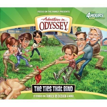 Adventures In Odyssey V58: Ties That Bind (4 CD)-Christian Music-SonGear Marketplace-SonGear