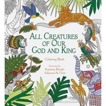 All Creatures of Our God and King Adult Coloring Book-Christian Books-SonGear Marketplace-SonGear