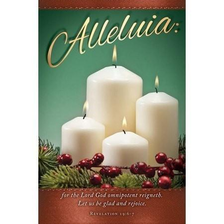 Alleluia (Revelation 19:6-7) Bulletins, 100-Christian Church Supplies-SonGear Marketplace-SonGear