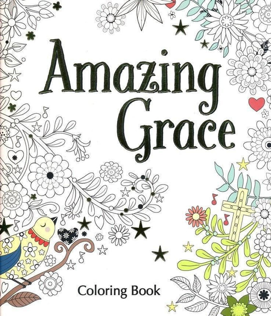 Amazing Grace Coloring Book-Christian Books-SonGear Marketplace-SonGear