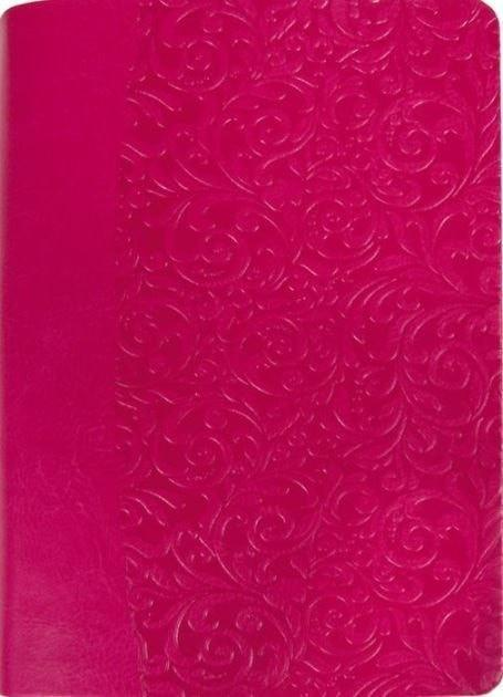Amplified Everyday Life Bible-Fuchsia Pink Leatherette-Christian Bibles-SonGear Marketplace-SonGear