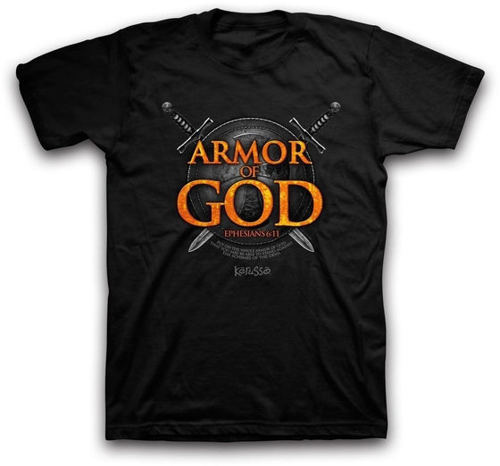 Armor of God Christian T-Shirt-Christian T-Shirts-Kerusso-APT2032SM-SonGear