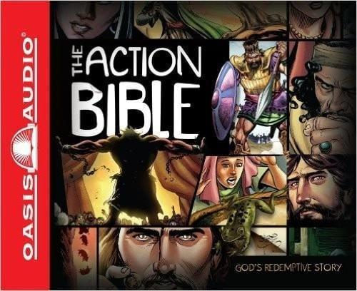 Audiobook-Action Bible (Unabridged) (8 CD)-Christian Music-SonGear Marketplace-SonGear