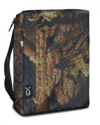 Basic Bible Cover - XL Autumn Forest Camo-Christian Bibles-SonGear Marketplace-SonGear