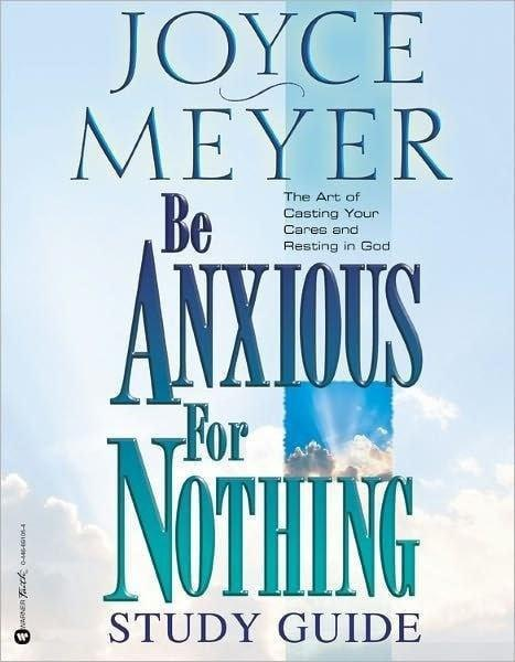 Be Anxious For Nothing Study Guide-Christian Books-SonGear Marketplace-SonGear