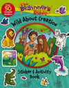 Beginner's Bible Wild About Creation Sticker And Activity Book-Christian Decorative Stickers-SonGear Marketplace-SonGear