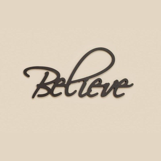 Believe, Word Wall Art-Christian Home Decor-SonGear Marketplace-SonGear