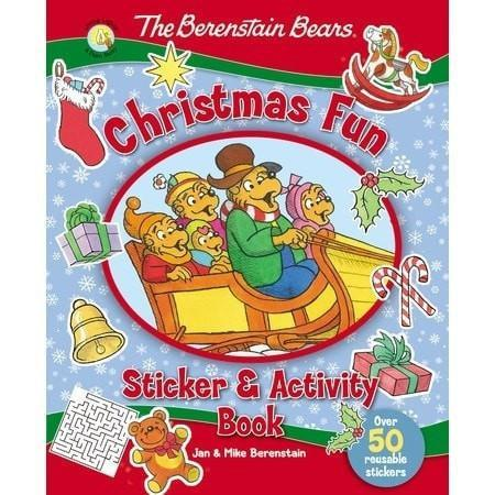 Berenstain Bears Christmas Fun Sticker And Activity Book (Oct)-Christian Decorative Stickers-SonGear Marketplace-SonGear